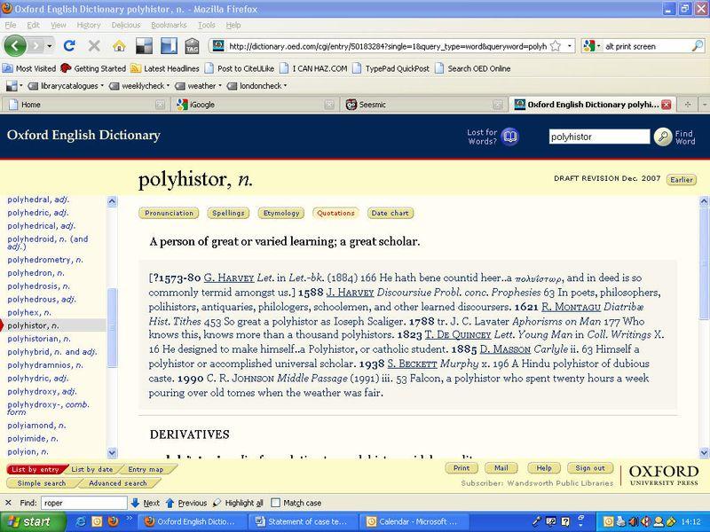 Polyhistor