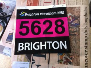 Marathonnumber